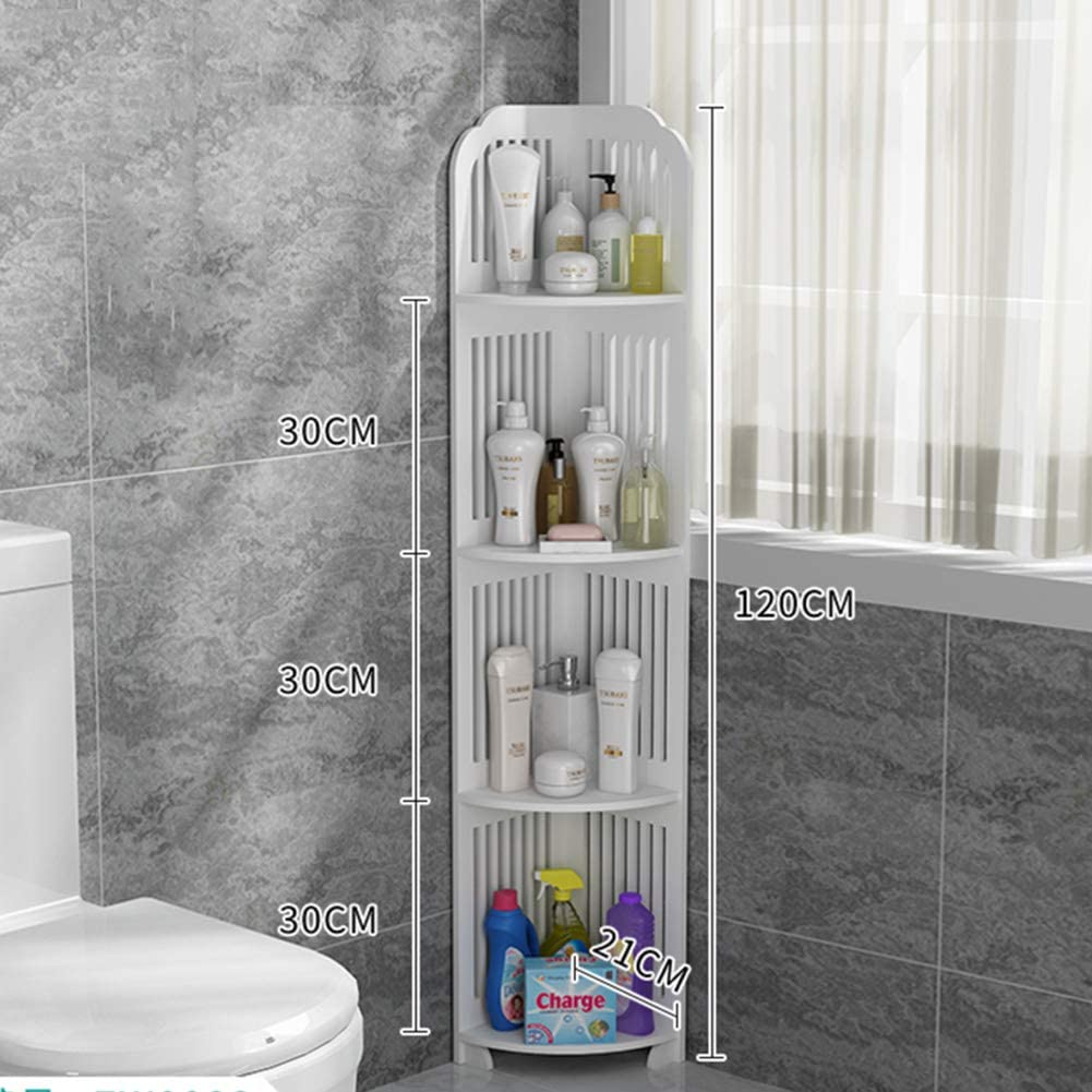 ZMIN Free Standing Toilet Inventory cleanup selling sale Paper Cabinet Storage Max 42% OFF Holders White Th