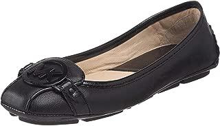 Women's Fulton Moccasin (9.5 W, Black Leather)