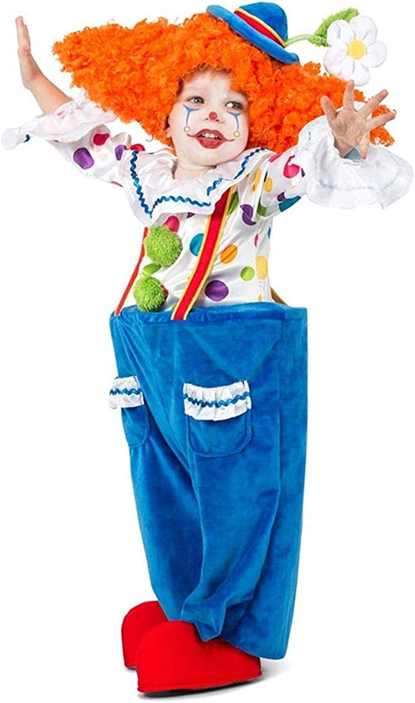 Princess Paradise colorful Circus Clown Toddler Costume  Medium 8
