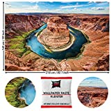 GREAT ART Fototapete Horseshoe Bend - Grand Canyon Design
