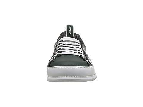 On Imperia Zegna Elasticized Sock Slip Z Sneaker Green IqC5d