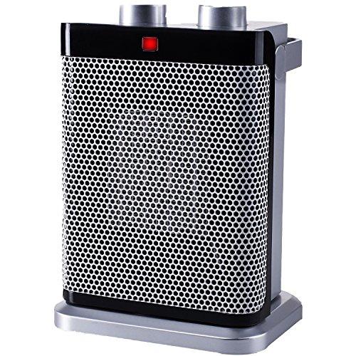 Tristar kompakter Heizlüfter - mit 3 Leistungsstufen, regelbare Heizstufe, Antikipp- und Überhitzungsschutz, 1000-1500 Watt, KA-5043