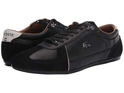 Lacoste Evara 120 1 U (Black/Dark Grey) Men