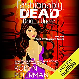 Fashionably Dead Down Under audiobook cover art