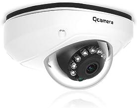"Q-camera Dome Security Camera 1080P HD 4 in 1 TVI/CVI/AHD/CVBS Analog CCTV Camera 1/2.9"" Sensor 2.8mm Lens 33ft IR Night V..."