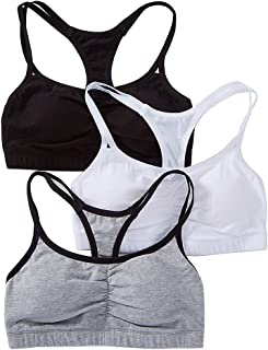 Fruit of The Loom Women's 3 Pack Spaghetti Sports Bra,...