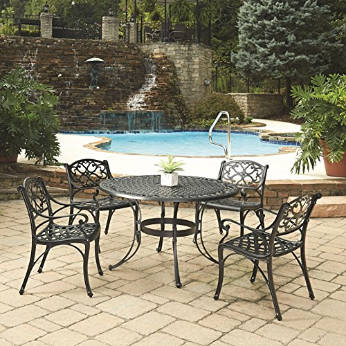 An iron patio set lasts longer just like your marriage if you give this great anniversary gift idea