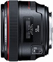 Canon EF 50mm f/1.2 L USM Lens for Canon Digital SLR Cameras – Fixed