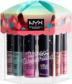 NYX Whipped Wonderland Soft Matte Metallic Lip Cream 12 X 4,7 ml