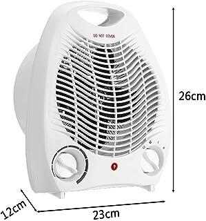 GU-XIA 2000W Eléctricos Portátiles Ventilador del Calentador Espacio Personal Cálido Eléctricos del Radiador De Calefacción 3 Configuración del Calentador del Invierno Máquina
