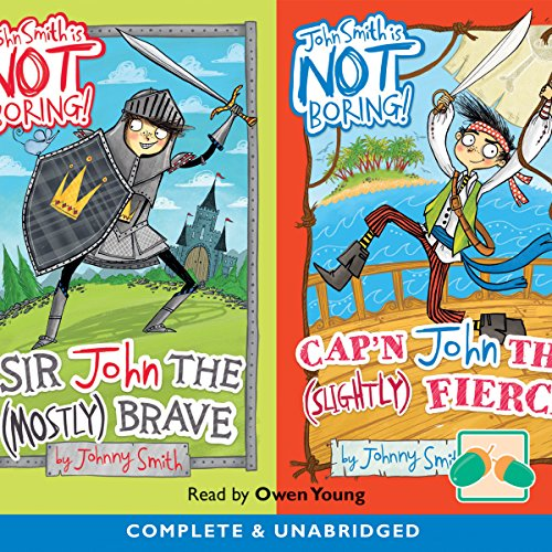 Sir John the Mostly Brave & Cap'n John the Slightly Fierce cover art