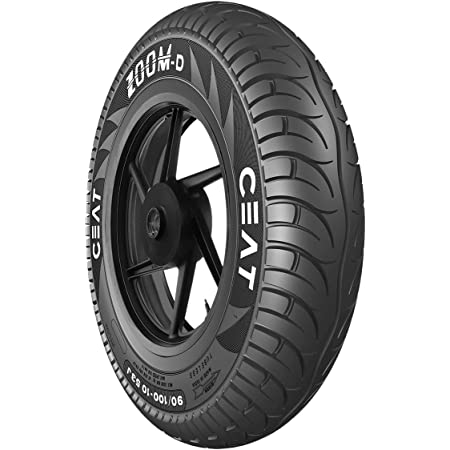 Ceat Zoom D 90/90 -12 54J Tubeless Scooter Tyre,Front or Rear