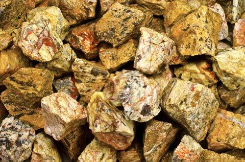 Fantasia Materials: 2 lbs Landscape Jasper Rough Stones from India