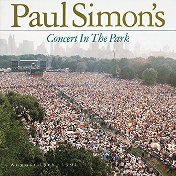 Paul Simon's Concert In The Park August 15, 1991