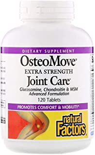 Natural Factors OsteoMove Extra Strength Joint Care - 120 Tablets