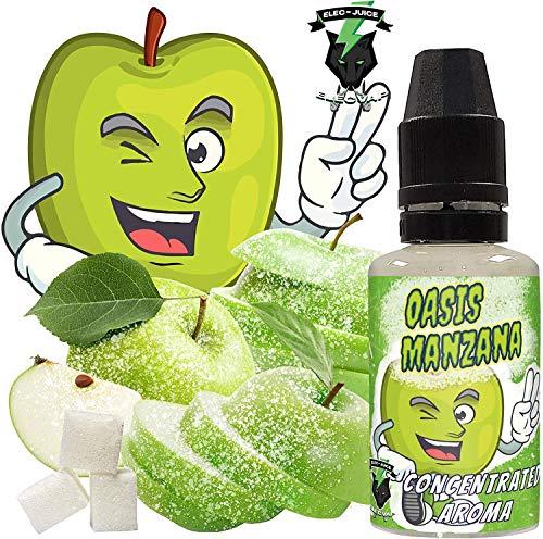 Aroma Concentrado OASIS MANZANA | 30ML | ElecVap | Sin Nicotina: 0MG | E-Liquido para Cigarrillos Electronicos - E Liquidos para Vaper