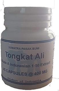 Tongkatali.org's 45 Capsules Grade A Indonesian 1:50 Tongkat Ali Extract