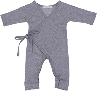 Everpert Toddler Kids Baby Girls Cherry Romper Jumpsuit Bodysuit Clothes Outfits