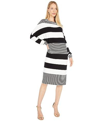 KAMALIKULTURE by Norma Kamali Spliced All-In-One Dress