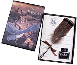 Antique Feather Dip Pen Set, Calligraphy Pen Set Writing Quill Ink Dip Pen Set Best Christmas Gifts for Harry Potter Fans