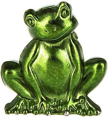 StealStreet Green Frog Couple Pucker Up Kissing Decorative Figurine Statue GSC SS-G-61226