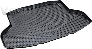 Vesul Rubber Rear Trunk Cargo Liner Trunk Tray Floor Mat Cover Fits on Honda Civic Sedan 2016 2017 2018 2019 2020