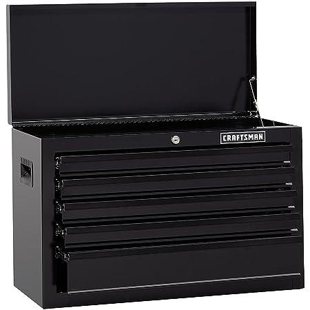 "Craftsman 26"" Wide 5-Drawer Standard-Duty Top Chest - Black"