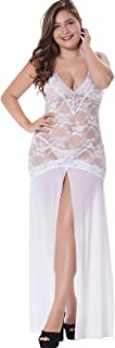 Best plus size white lace gown Reviews