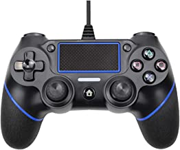Innoo Tech PS4 Controller, Wired Remote Controller for Playstation 4 Dual Vibration Shock Joystick Gamepad for PS4/PS4 Sli...
