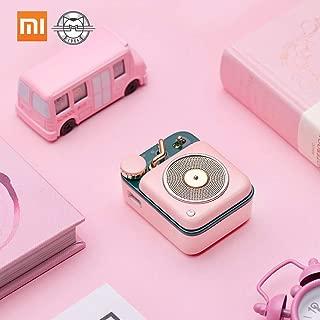 Xiaomi Mijia BT Speaker Atomic Phonograph B612 Smart Mini Wireless Portable Soundbox Bass Speakers Audio Player Music Amplifier