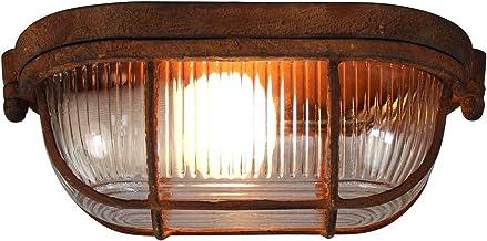 Brilliant Bobbi muur- en plafondlamp roestkleurig 94458/60