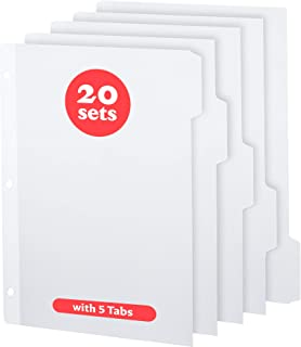 large binder dividers