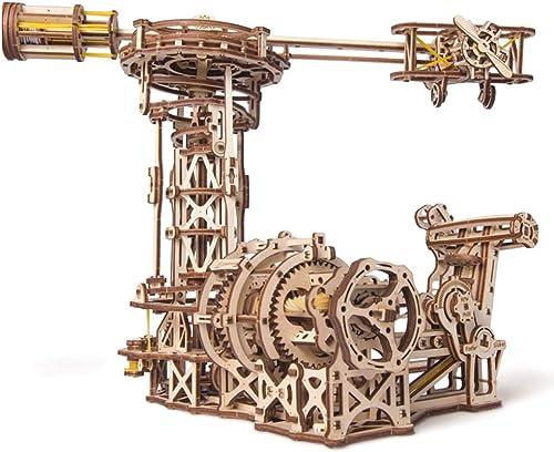 con 60% de descuento EP-Toy EP-Toy EP-Toy Modelo de Madera de Corte por láser 3D, piloto mecánico Creativo Modelo de rojoación mecánica, Juguete de descompresión de Adultos DIY  calidad oficial