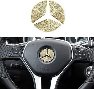 1797 Compatible Air Vents Caps for Mercedes Benz Accessories Parts C117 X156 W246 CLA GLA B Class AMG AC Outlet Covers Stickers Interior Front Decorations Women Men ABS Carbon Fiber Black 5 Pack