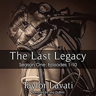 The Last Legacy audiobook cover art