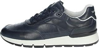 Nero Giardini E101992U Sauvage - Zapatillas deportivas para hombre, de piel, color azul noche