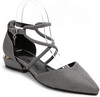 BalaMasa Womens ASL06675 Pu Block Heels