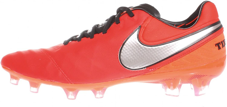 Nike Tiempo Legend VI Firm Ground Cleats [Light Crimson]