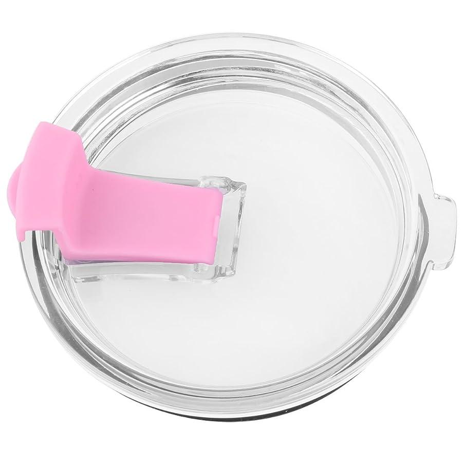 倍増パッケージ月曜uxcell カップカバー カップぶた カップカバー マグ コップの蓋 カバー 家庭用 カフェー用 プラスチック 円形 飲料 水 コーヒー ジュース ピンク 30オンス