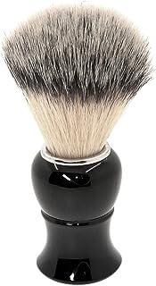 Decdeal メンズシェービングブラシ ひげ剃りブラシ 手すき プラスチック男性の顔のをクリーニングするブラシツール プロフェッショナル