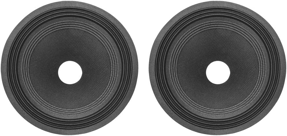 uxcell 8 inches Paper Speaker Subwoofer Drum Detroit Mall Cone Seasonal Wrap Introduction 1 Ripple
