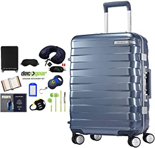Samsonite 111172-1432 Hardside Carry On 25 Inch - Ice Blue with Accessory Kit