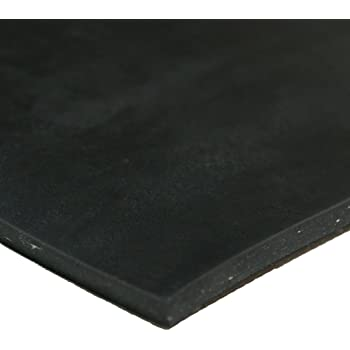 Amazon Com Rubber Cal Cloth Inserted Sbr 70a Rubber Sheet 1 8 Thick 3ft Width X 6ft Length Black Industrial Scientific
