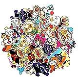ZJJHX Pan japonés Superman Cartoon Graffiti Stickers Maleta Stickers Cute Anpanman Computer Stickers 57