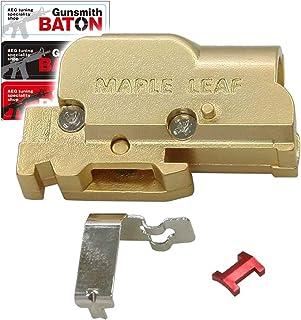 [ MAPLE LEAF ] Zinc alloy ホップアップチャンバー [ IKEY セット : 長掛ホップ化 ] [ Gunsmith BATON ステッカー付属 ] (ハイキャパ系用)