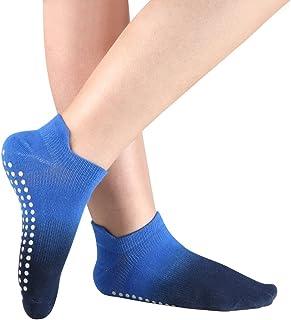 Women's Grip Socks for Yoga Pilates Barre Dance Ombre Dyed Non Slip Socks
