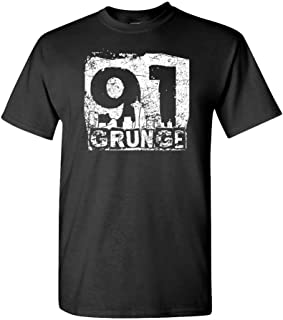 Grunge 91-90s Music Alternative Seattle - Mens Cotton T-Shirt