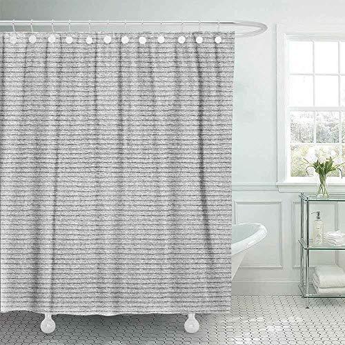 Shorping Shower Curtain Set, 78X72 Kids Shower Curtain Modern Shower Curtain White Natural Plush Terry Cloth Turkish Bath Beach Bathroom Towel Camping Shower Curtain Farmhouse Shower Curtain