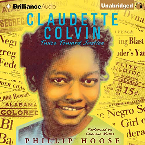 Claudette Colvin audiobook cover art
