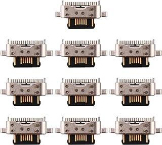 携帯電話交換修理部品 Meizu 16T用10 PCS充電ポートコネクタ